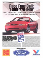 Race Fans Call: | Print Ads