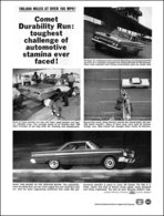 100,000 Miles At Over 105 M.P.H.!   Print Ads
