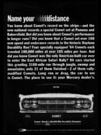 Name Your Distance   Print Ads