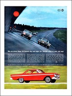 Why We Drove These '64 Comets Day And Night For 100,000 Miles At Over 105 M.P.H.   Print Ads