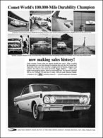 Comet-World's 100,000-Mile Durability Champion Now Making Sales History!   Print Ads