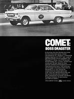 Comet: Boss Dragster   Print Ads