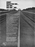 Comet Dragsters Win ... And Win ... And Win ... And ...   Print Ads