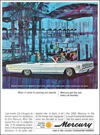 When It Came To Passing Out Awards Mercury Got The One Every Car Wanted   Print Ads