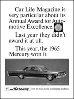 Car Life Magazine Is Very Particular About Its Annual Award For Automotive Excellence.   Print Ads