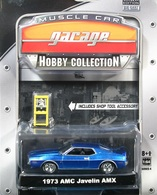 Greenlight collectibles muscle car garage hobby collection 1973 amc javelin amx model cars 930607f2 3878 4651 91cf 118a018af1cf medium
