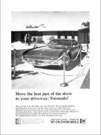 "1967 Toronado Ad ""Best Part of the Show""   Print Ads"