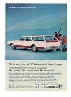 "1967 Vista Cruiser ""Make Way""   Print Ads"
