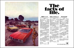 """1968 Sports Models - """"The Facts of Life""""   Print Ads"""