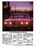 """1968 442 - """"The Hidden Persuaders""""   Print Ads"""