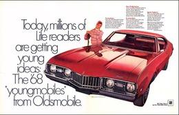 "1968 Cutlass S Ad ""Young Ideas""   Print Ads"