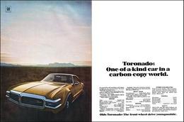 "1968 Toronado Ad ""One of A Kind""   Print Ads"
