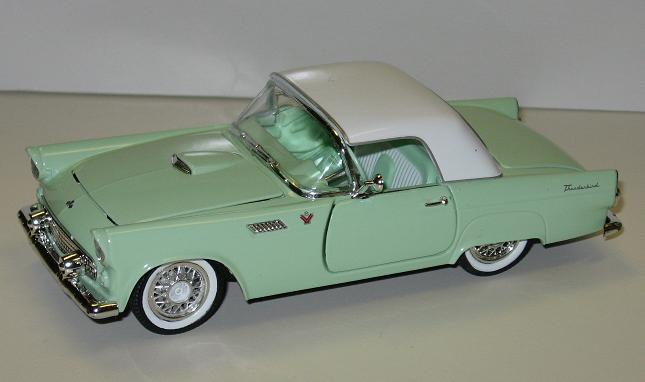 & 1955 Ford Thunderbird   Model Cars   hobbyDB markmcfarlin.com