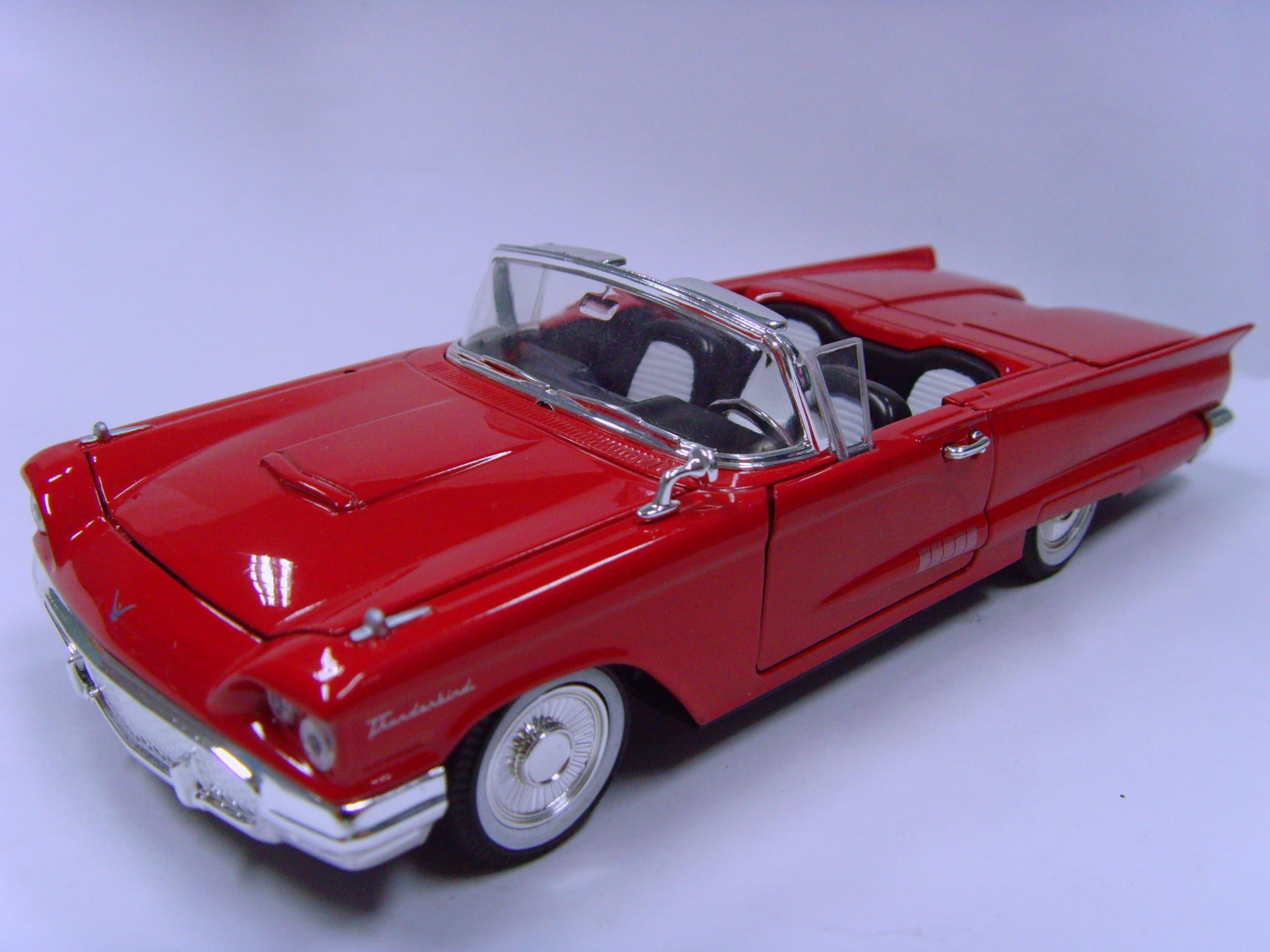 & 1958 Ford Thunderbird Convertible   Model Cars   hobbyDB markmcfarlin.com
