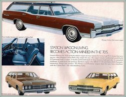 Station Wagon Living Becomes Action-Minded In The '70s. | Print Ads