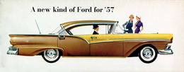 A New Kind Of Ford For '57 | Print Ads