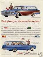 Ford Gives You The Most In Wagons! | Print Ads