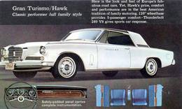 Gran Turismo/Hawk Classic Performer Full Family Style | Print Ads