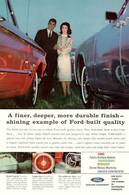 A Finer, Deeper, More Durable Finish - Shining Example Of Ford-Built Quality | Print Ads