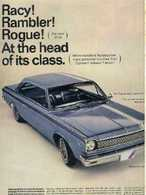 Racy! Rambler! Rogue! At The Head Of Its Class. | Print Ads