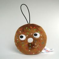Chocolate Sprinkle Donut | Plush Toys