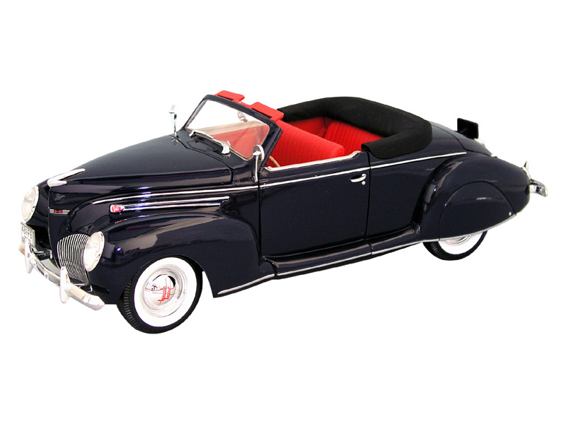 1939 lincoln zephyr convertible model cars 118 scale 1939 lincoln zephyr model