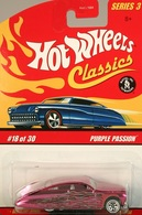 Hot wheels hot wheels classics%252c hot wheels classics series 3 purple passion model cars 2cbf5402 15e1 4845 b01a 586c5eb10a2c medium