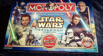 Monopoly Star Wars Episode 2 Collectors | Board Games