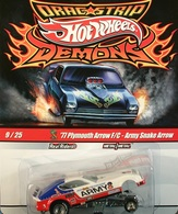 Hot wheels drag strip demons%252c real riders 77 plymouth arrow f%252fc   army snake arrow model cars 0246a37f 0182 4368 b11a 87b6df4323bc medium