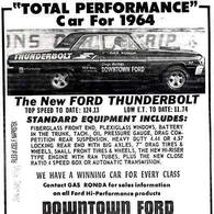 """Total Performance"" Car For 1964 