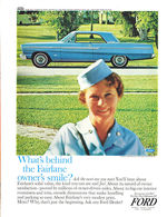 What's Behind The Fairlane Owner's Smile? | Print Ads