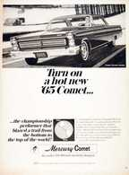 Turn On A Hot New '65 Comet ... | Print Ads