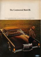 1969 Continental Mark III | Print Ads