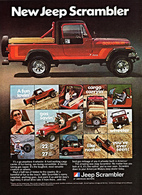 New Jeep Scrambler | Print Ads