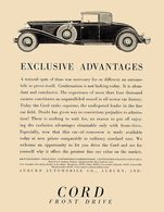 Exclusive Advantages | Print Ads