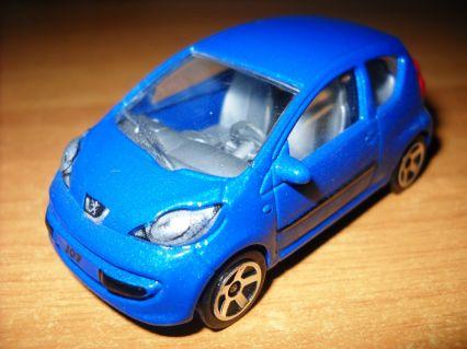 Peugeot 107 | Model Cars | hobbyDB