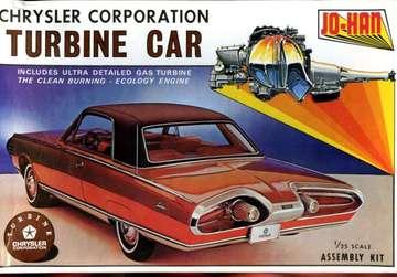 1964 Chrysler Turbine Car Kit Model Car Kits Hobbydb