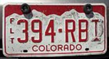 Colorado Fleet License Plate | License Plates