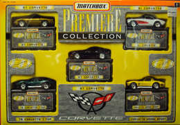 Corvette Set | Model Vehicle Sets | MATCHBOX PREMIERE COLLECTION