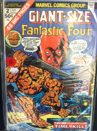 Giant-Size Fantastic Four No. 2 | Comics and Graphic Novels