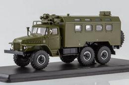Кунг К-375 (на шасси УРАЛ-375)   Model Military Tanks & Armored Vehicles