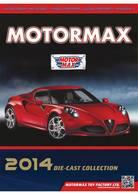 Motormax 2014 Die-Cast Collection | Brochures & Catalogs