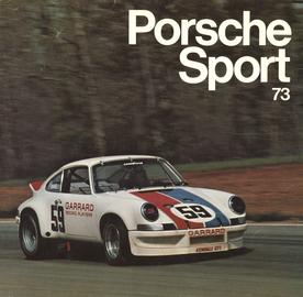Porsche Sport 73 | Books