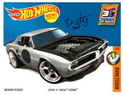 31st Collectors Convention Autograph Sheets | Posters & Prints | Hot Wheels 31st Annual Collectors Convention Brendon Vetuskey 67 Pontiac Firebird