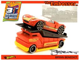 31st Collectors Convention Autograph Sheets | Posters & Prints | Hot Wheels 31st Annual Collectors Convention Bryan Benedict 'The Embosser'