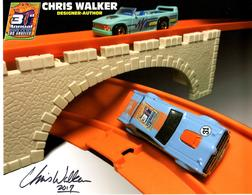 31st Collectors Convention Autograph Sheets | Posters & Prints | Hot Wheels 31st Annual Collectors Convention Chris Walker - 68 Mercury Cougar