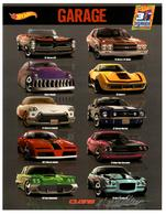 31st Collectors Convention Autograph Sheets | Posters & Prints | Hot Wheels 31st Annual Collectors Convention Mike McClone Graphics Design Garage Series