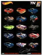 31st Collectors Convention Autograph Sheets | Posters & Prints | Hot Wheels 31st Annual Collectors Convention Jerry Thienprasiddhi Graphics design 2016 TH series