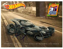 31st Collectors Convention Autograph Sheets | Posters & Prints | Hot Wheels 31st Annual Collectors Convention Manson Cheung - Batmobile