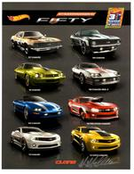 31st Collectors Convention Autograph Sheets | Posters & Prints | Hot Wheels 31st Annual Collectors Convention Mike McClone - Camaro Fifty